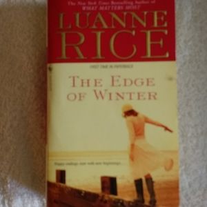 5/$10 book bundle: THE EDGE OF WINTER